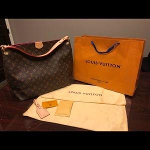 LV Graceful MM Monogram Handbag